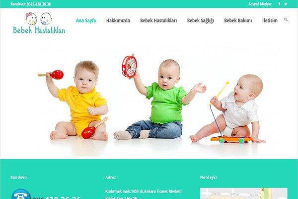 Doktorlar için Web Sitesi Tasarımı